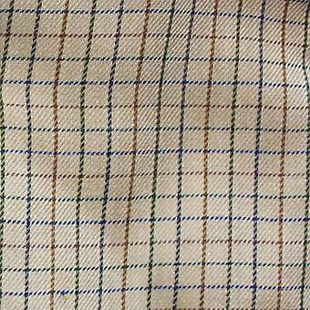 Mester Mens Cartmel Country Casual Langermet skjorte - Beige - L