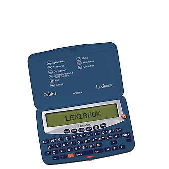 Lexibook LEXIBOOK DC753EN Collins English Dictionary, 13th Edition-Electronic Pocket Spellchecker, Thesaurus,