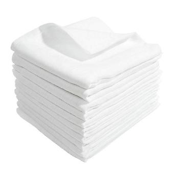 White Muslin 100% Cotton Baby Diapers