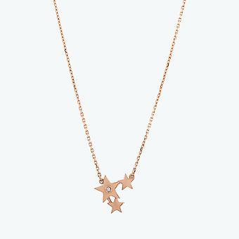 Collana di diamanti stella