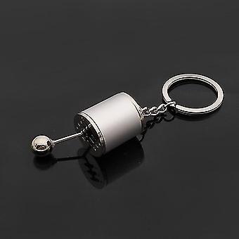 Corrida de Natal Seis velocidades Manual Shift Gear Key Ring Toy