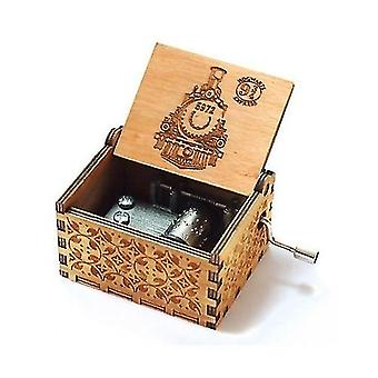 Harry Potter Collectibles Wooden Handmade Music Box For Christmas Present Home