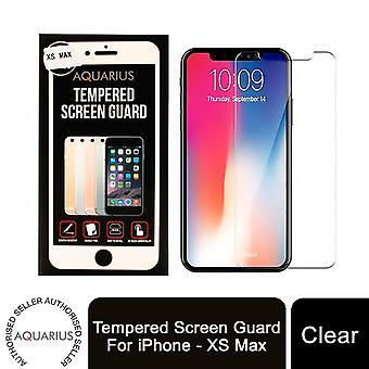 Aquarius gehärteter Bildschirmschutz für iPhone - XS Max