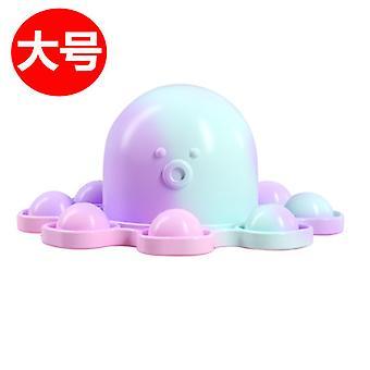 Odwróć Brelok ekspresji ośmiornicy, aby rozpakować zabawkę Octopus Anti Stress 32