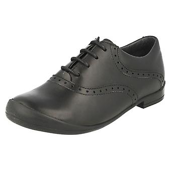 Girls Startrite Lace Up School Shoes Eleanor