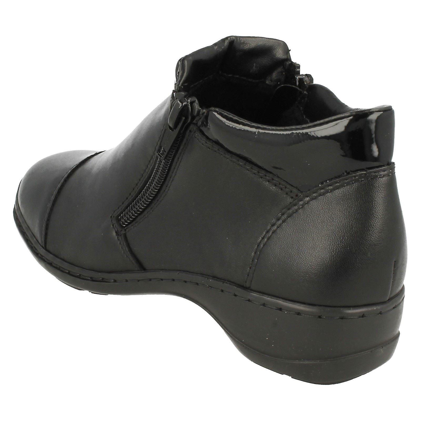 Ladies Rieker Ankle Boots 58374
