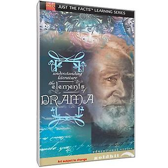 Just the Facts - Understanding Literature: The Elements of Drama [DVD] USA import