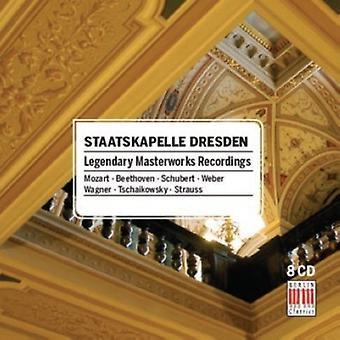Staatskapelle Dresden - Legendary Masterworks Recordings [CD] USA import