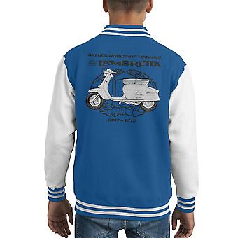 Haynes Owners Workshop Manual Lambretta 3 Kid's Varsity Jacket