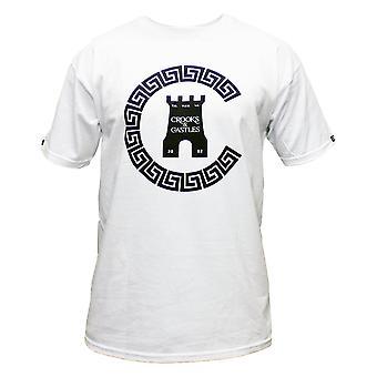 Crooks & Castles Greco Chain C T-shirt White