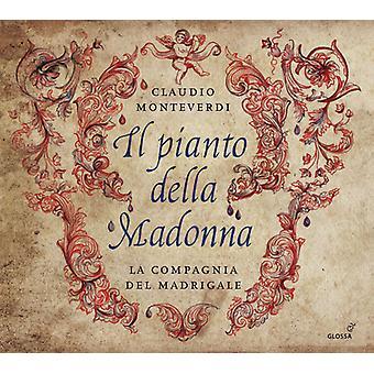 Monteverdi, Claudio / Graziolino, Marta - Monteverdi: Il Pianto Della Madonna [CD] USA import
