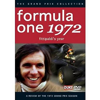 F1 Review 1972 Fittipaldis Year [DVD] USA import