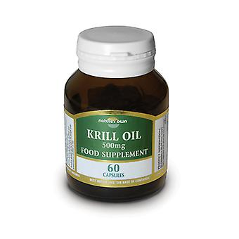 Natures Own Krill Oil, 60caps