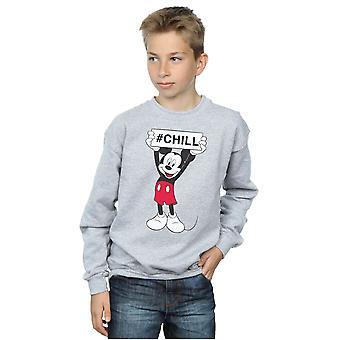 Disney Boys Mickey Mouse Chill Sweatshirt