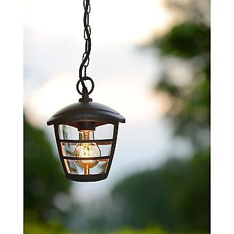 Lucide Istro schwarze Veranda Decke Anhänger Licht