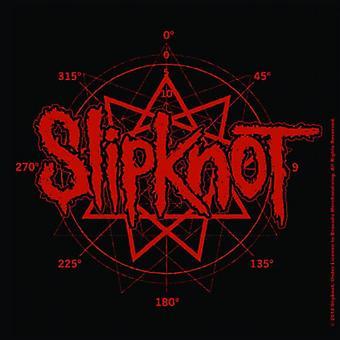 Slipknot Coaster band Logo nieuwe officiële 9,5 x 9,5 cm kurk één drankje