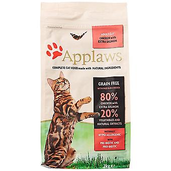 Applaws naturel complet sèche pour chats aliments Adult poulet, 2kg