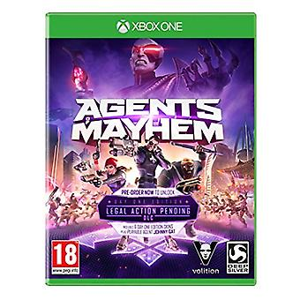 Agents of Mayhem Day One Edition (Xbox One) - Nouveau