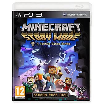 Minecraft story mode-A Telltale game series-Season disc (PS3)-nieuw