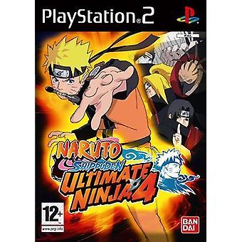 Ultimate Ninja 4 Naruto Shippuden (PS2) - Ny fabrik förseglad