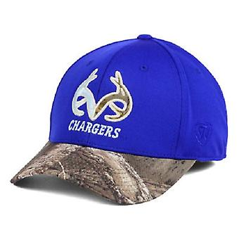 Alabama Huntsville Chargers NCAA TOW Region Camo Stretch Fitted Hat