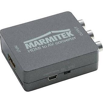 AV Dönüştürücü [HDMI - RCA kompozit, SCART] 1080 x 720 p Marmitek Connect HA13