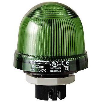 Werma Signaltechnik Light 815.200.00 815.200.00 Green Flash 12 V AC, 12 V DC, 24 V AC, 24 V DC, 48 V AC, 48 V DC, 110 V AC, 230 V AC