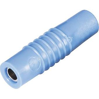 Schnepp KP 4000 S Jack socket Plug, straight Pin diameter: 4 mm Blue 1 pc(s)