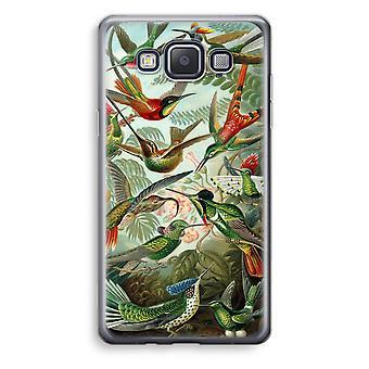 Samsung Galaxy A3 (2015) gjennomsiktig sak (myk) - Haeckel Trochilidae