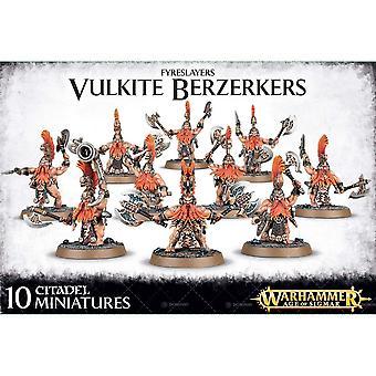 Games Workshop Warhammer 40.000 Fyreslayers Vulkite Berzerkers Kunststoff Kit