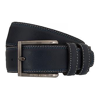 Ceintures de OTTO KERN ceintures pour hommes en cuir ceinture bleue 7658