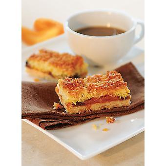 We Love Cake Frozen Gluten Free Apricot Macaroon Slice