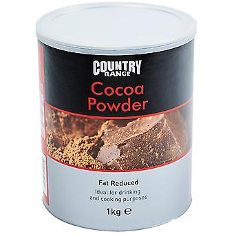 Country Range Fat Reduced Cocoa Powder