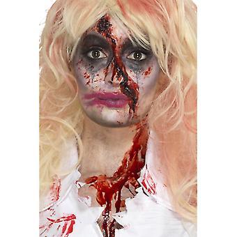 Zombie sykepleier makeup Kit