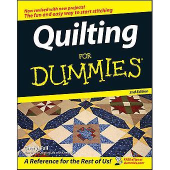 Quilten voor Dummies (2e herziene editie) door Cheryl Fall - 978076459
