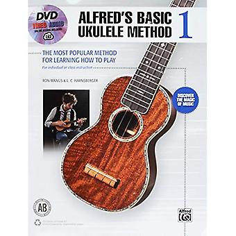 Alfred's Basic Ukulele Method 1: The Most Popular Method for Learning How to Play (Book, DVD & Online Audio &...