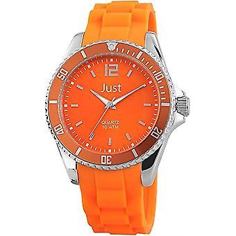 Just Watches 48-S3862-OR - Unisex wristwatch, caucci strap? Orange
