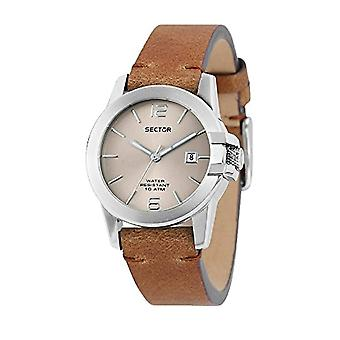 Sector watch Analog quartz ladies watch with leather R3251597501