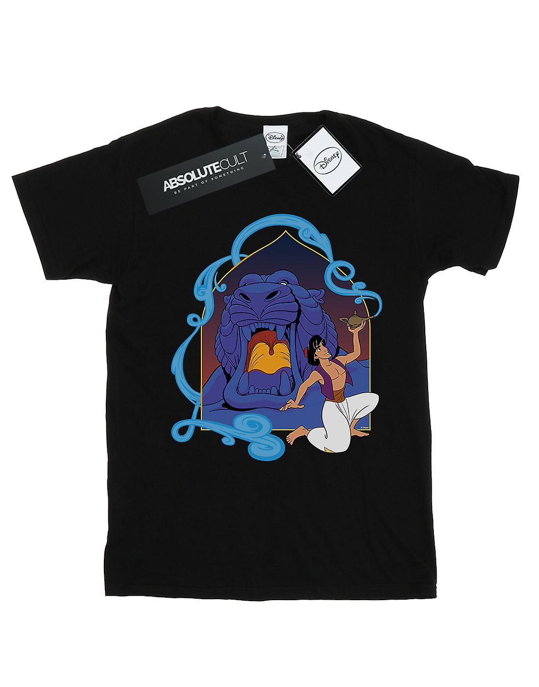 Disney Men's Aladdin Cave Of Wonders T-Shirt