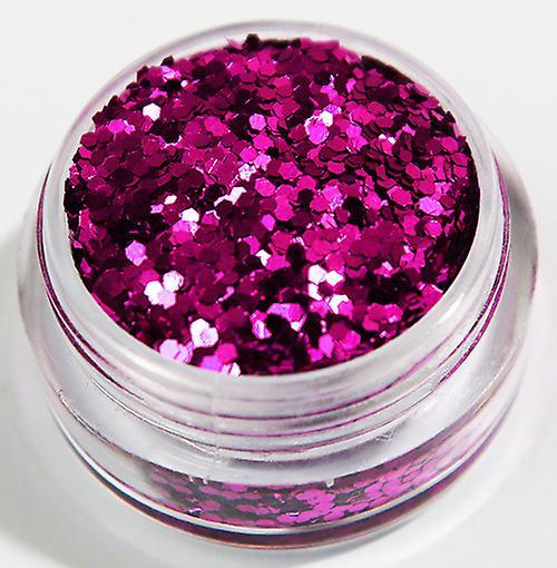 1pcs Hexagon glitter Pink