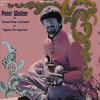 Peter Walker - Second Poem to Karmela Gypsies Are Important [CD] USA import