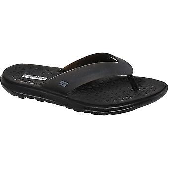 Skechers Womens Nextwave Ultra Jelly Flip Flop Sandals