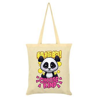 Handa Panda Choose Kind Tote Bag