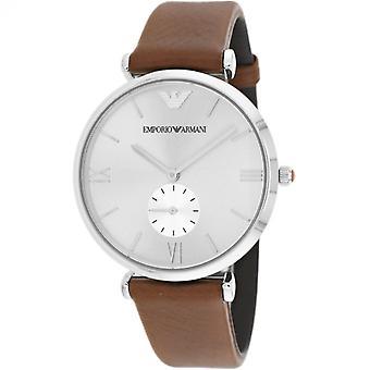 Emporio Armani Ar1675 Retro Silver Dial Men's Watch