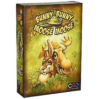 Czech Games Edition Bunny Bunny Moose Moose Board Game