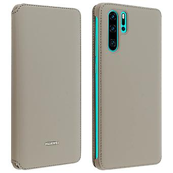 Huawei P30 Pro Case Cover Storage Cards Integral Protection - Bruin