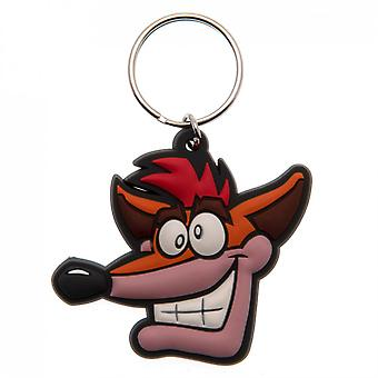 Crash Bandicoot PVC Keyring