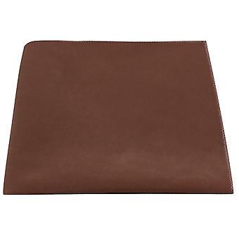 Luxus Lebkuchen Brown Velvet Einstecktuch
