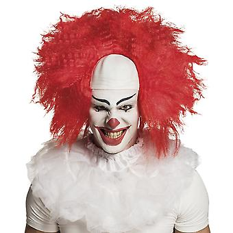 Horrow Clown Halloween Parrucca