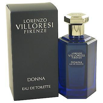 Lorenzo villoresi firenze donna eau de toilette spray (unisex) by lorenzo villoresi 532917 100 ml